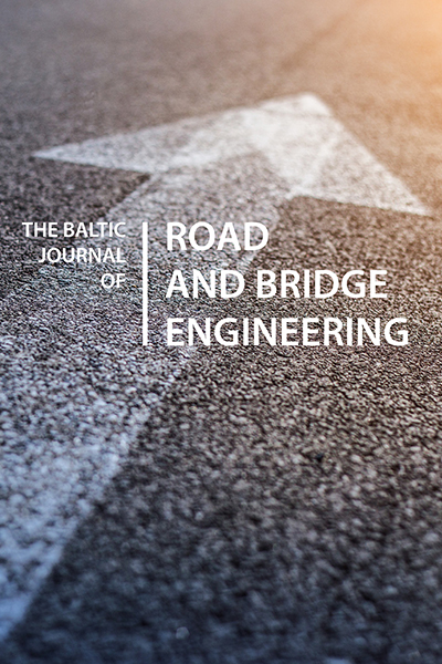 The Baltic Journal of Road and Bridge Engineering
