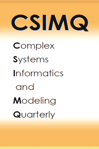 Complex Systems Informatics and Modeling Quarterly